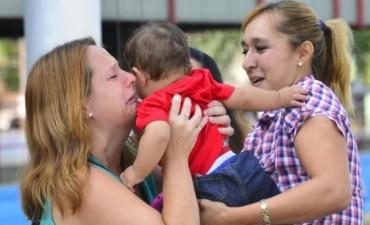 Bebé rescatado vivía  en condiciones deplorables