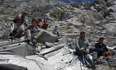 Encontraron un avión que llevaba 53 años perdido en la Cordillera