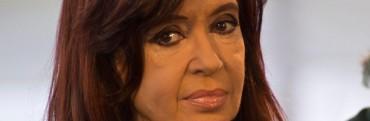 Sin referirse a la imputación, Cristina valoró su gestión