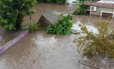 Después del temporal en Sierras Chicas
