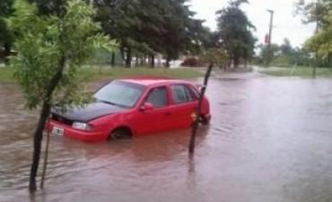 Más de 380 milímetros de lluvia en 7 horas en La Tordilla