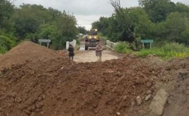 Instalan un puente Bailey entre Jesús María y Ascochinga