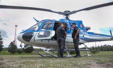 Se estrelló un helicóptero en el cerro Uritorco