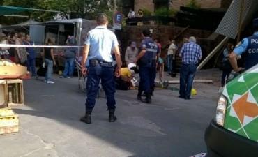 Tres obreros heridos al caer de un edificio en Nueva Córdoba