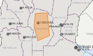 Alerta meteorológica a corto plazo para Córdoba