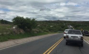 Cinco atrapados tras un choque en ruta 38 en Córdoba