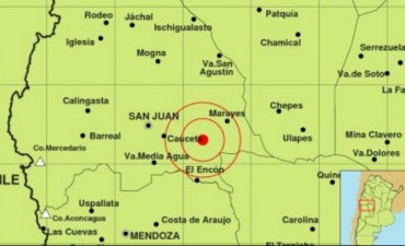 Se sacudio a San Juan con un sismo y se sintió en el país