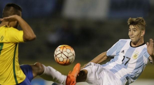 Argentina Sub-20 empató con Brasil y se complica su clasificación al mundial