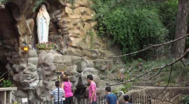 Miles de peregrinos en Alta Gracia por la Virgen de Lourdes