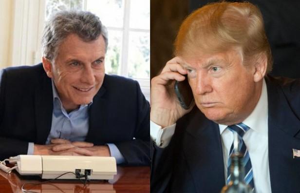 Macri hablará esta tarde por teléfono con Donald Trump