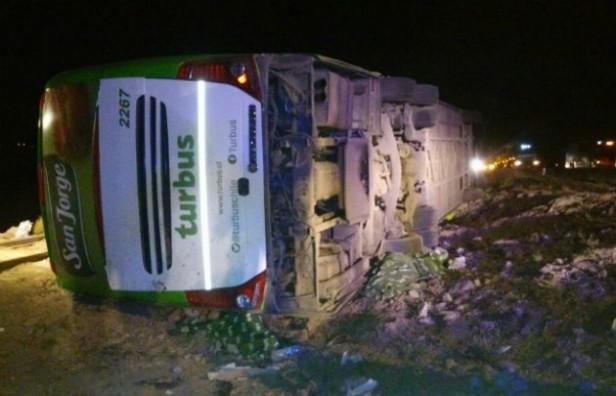 15 muertos y 25 heridos en un bondi accidentado en Mendoza