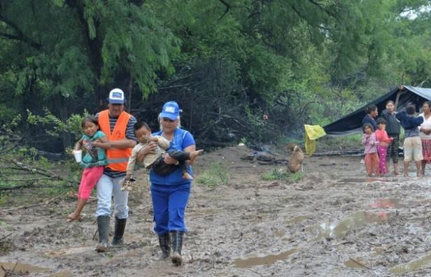 El río Pilcomayo sigue creciendo y ahora Formosa entra en alerta