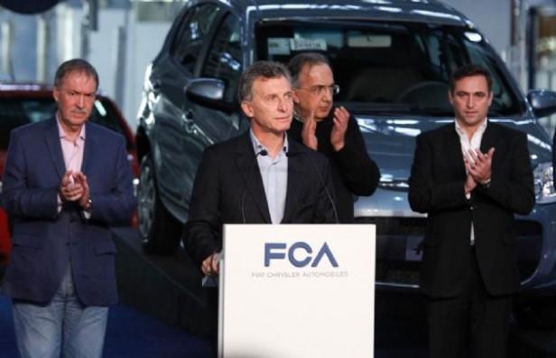 Macri visitará  la planta de Fiat de Córdoba por la mañana