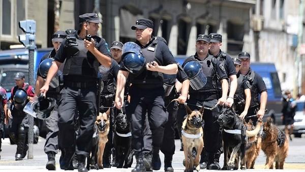 El Gobierno porteño no prevé un operativo de seguridad especial por la marcha de Hugo Moyano