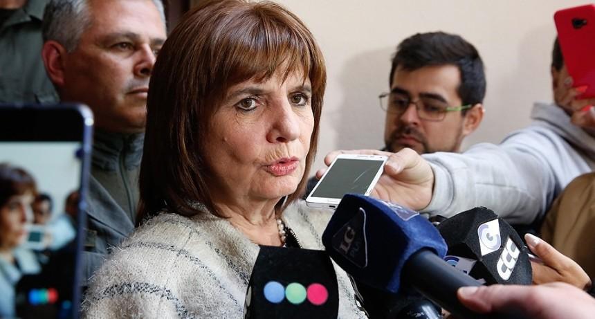 Patricia Bullrich negó que haya existido lawfare en la era macrista