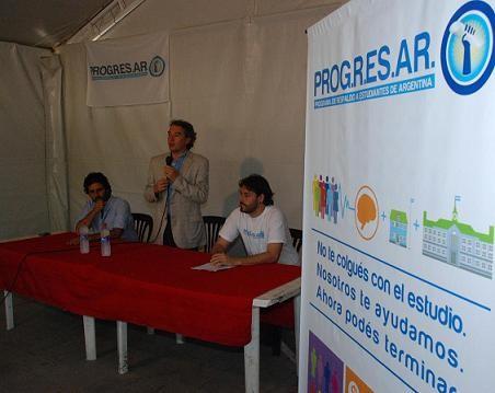 Presentaron Programa PROG.R.ES.AR