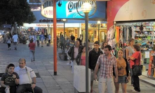 """Intenso movimiento de turistas en las sierras por el """"finde"""" largo"""