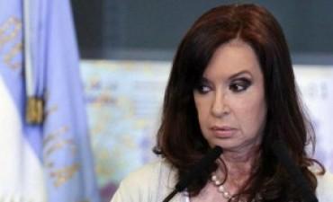 Cristina muy contrariada por la denuncia Oyarbide