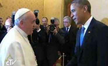 Obama se reúne con el papa Francisco