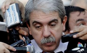 La TV Pública borró los silbidos para Aníbal Fernández en el acto por la embajada de Israel
