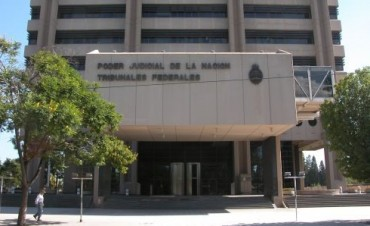 Edificio Justicia Federal colapsado