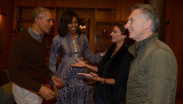 Macri despidió a Obama en Bariloche