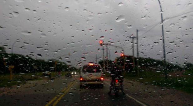 El SMN lanzó un alerta por tormentas fuertes