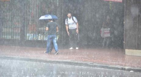 Alerta meteorológico por lluvias y tormentas fuertes o severas