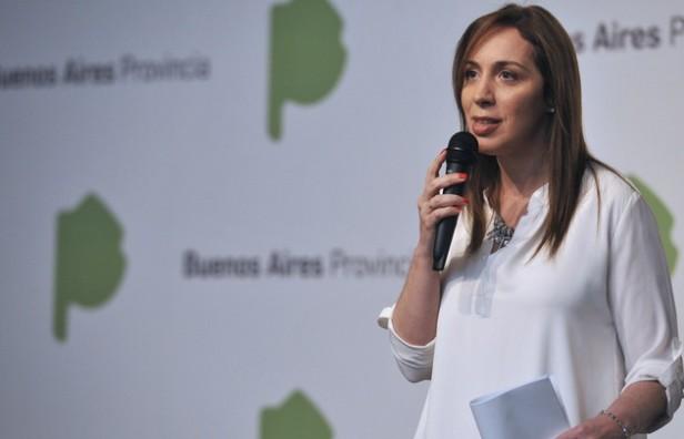 Vidal afirmó que la provincia de Buenos Aires