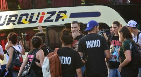 Los fans cordobeses del Indio Solari coincidieron en que no hubo controles