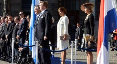 Los reyes de Holanda le dieron la bienvenida a Macri y Awada