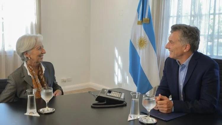 Mauricio Macri se reunió con la directora del FMI en la previa del G20 en la Argentina
