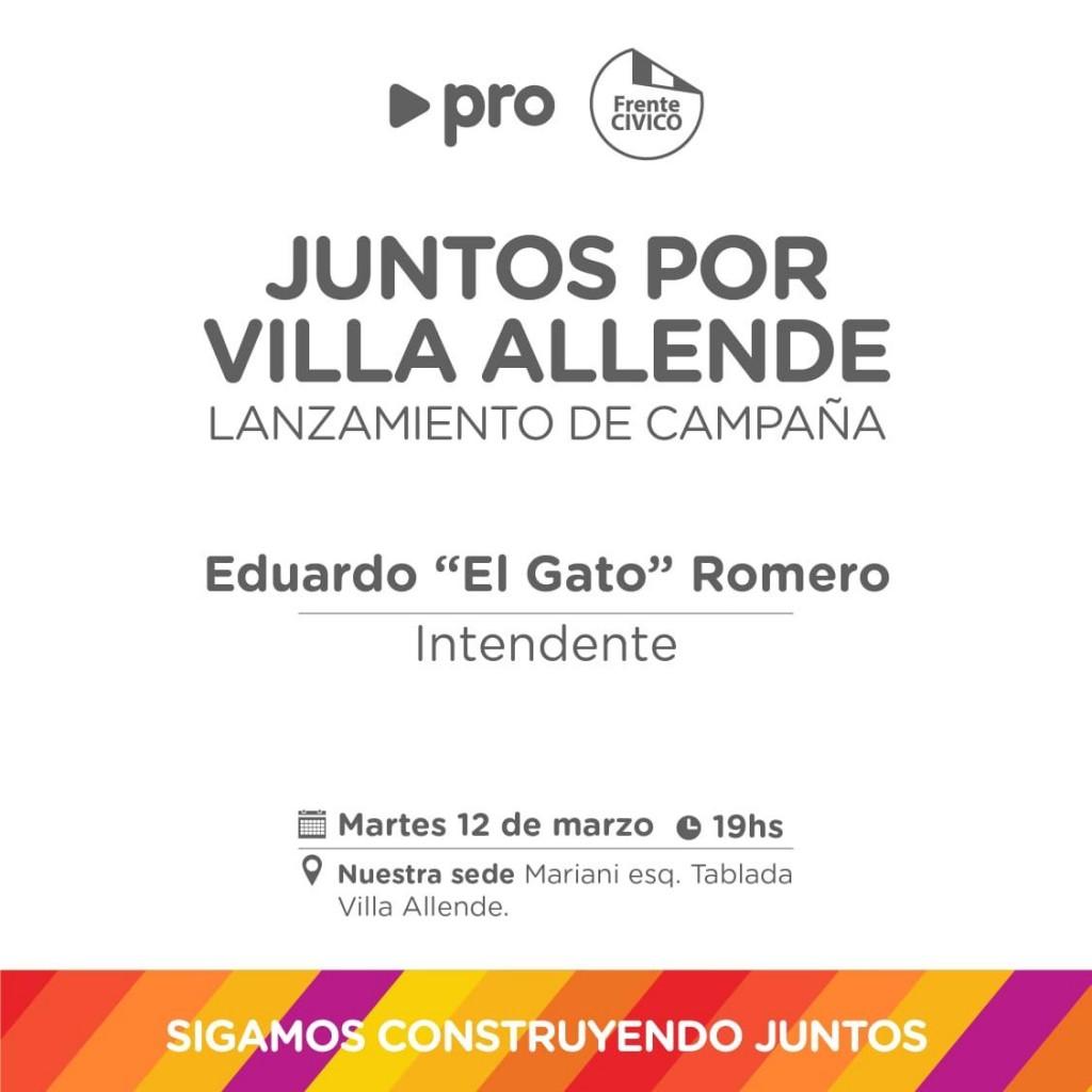 Se lanza Juntos por Villa Allende