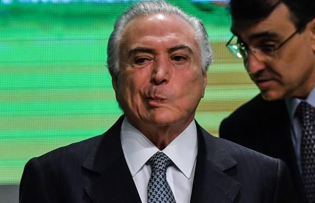 Detuvieron al ex presidente brasileño Michel Temer