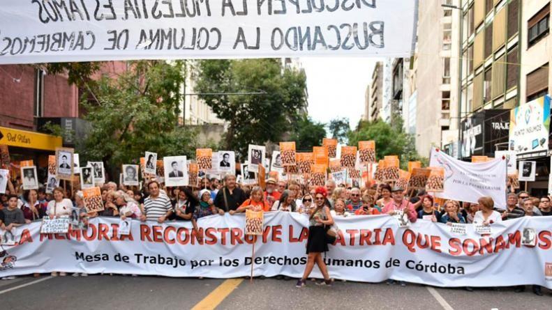 Una multitud marchó en Córdoba en el Día de la Memoria por la Verdad y la Justicia
