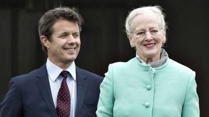 Llegó a la Argentina la reina Margarita de Dinamarca para una visita de tres días