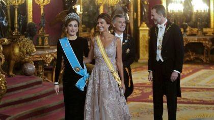 Después de la reina de Dinamarca vienen los reyes de España