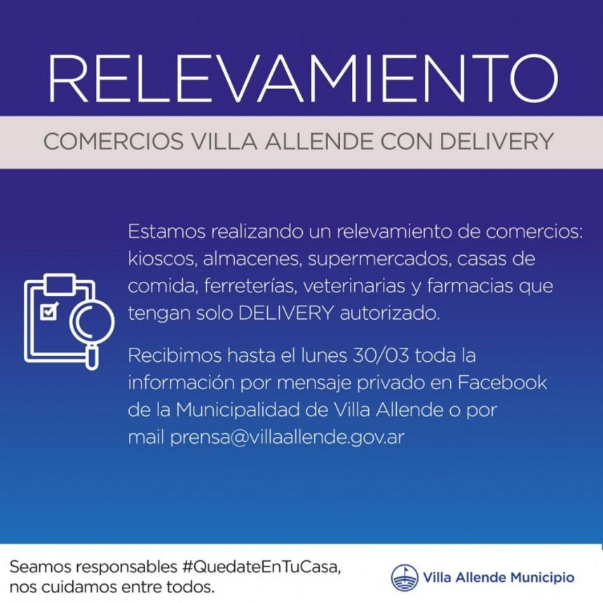 RELEVAMIENTO DE LOS SERVICIOS ACTIVOS PARA LOS VECINOS DE VILLA ALLENDE