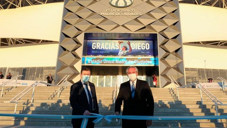 Un estadio de 1.500 millones de pesos, en una de las provincias más pobres de la Argentina. Falta Agua Potable, Atención de la Salud, Trabajo, Educación y empatía