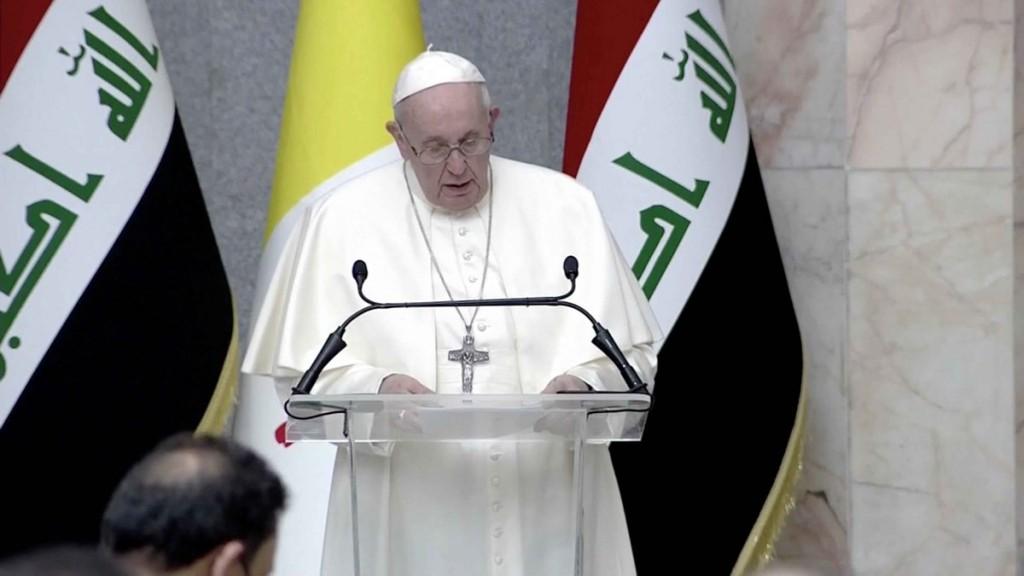 """El primer discurso del papa Francisco en Irak: """"Basta de extremismos, facciones e intolerancias"""""""