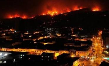Sospechan que el incendio en Valparaíso fue obra humana