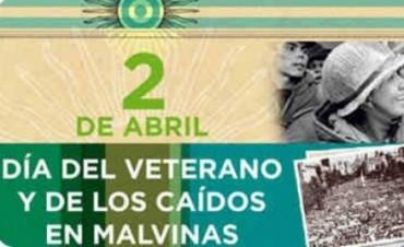 Conmemoración del Día del Veterano y de los Caídos en la Guerra de Malvinas