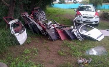 Hallaron autos robados en una playa de Epec: un escondite electrizante