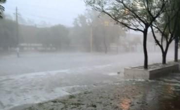 Alerta por fuertes tormentas en el centro y sur de Córdoba
