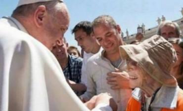 La anciana de 91 años que caminó de Tucumán a Luján se reunió con el papa Francisco