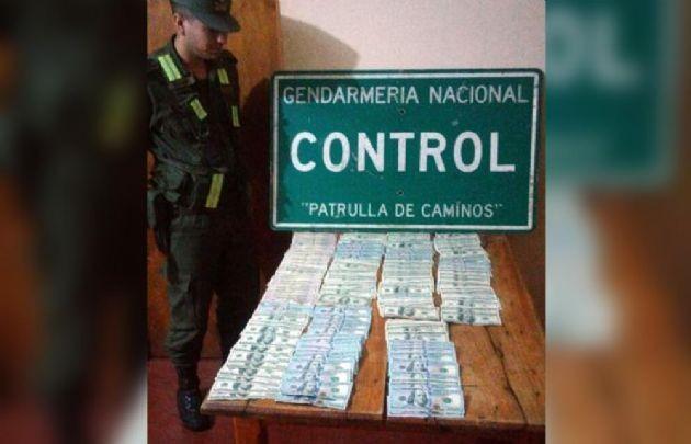 Salta. Incautan U$S 100 mil y 67 kilos de cocaína en Salta