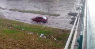 Peligro: conductores imprudentes en la Costanera