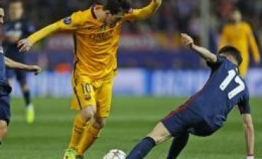 Atlético de Madrid eliminó al Barcelona de la Champions League
