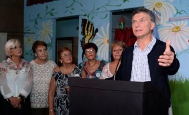 Mauricio Macri anunció un paquete de medidas sociales