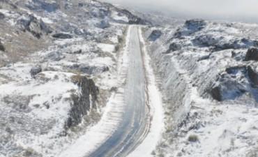 Nrevada en La Cumbrecita y en las Altas Cumbres